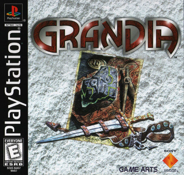 Grandia [NTSC-U] [Disc1of2] Front Cover